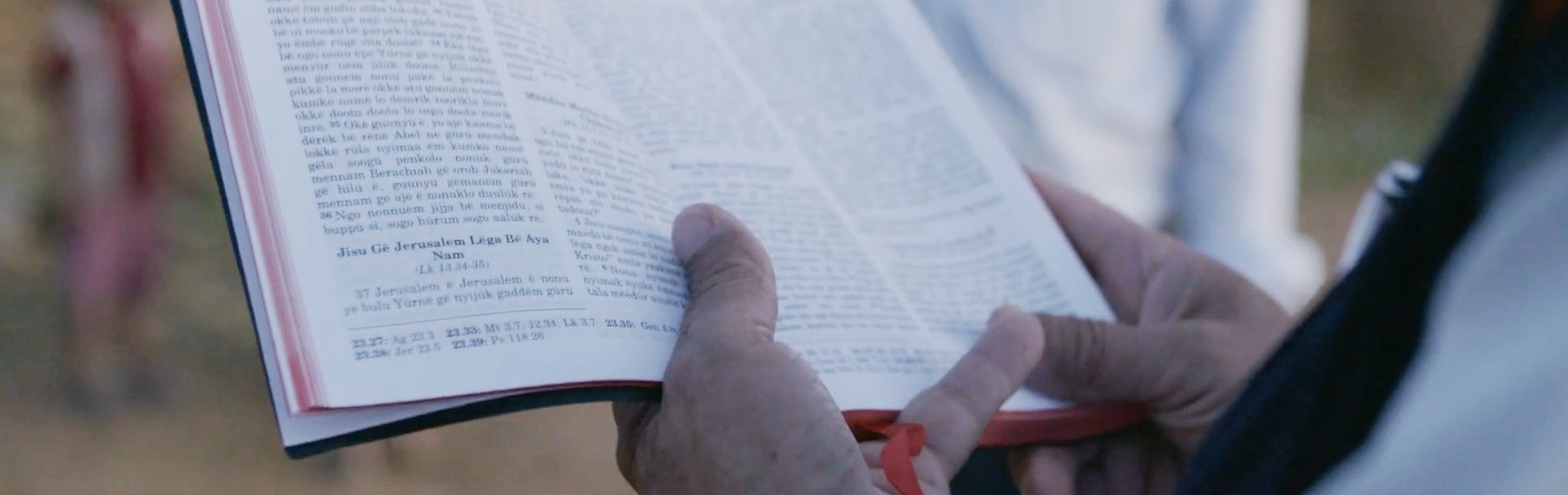 Bible Translations: Reading God's Words for the First Time