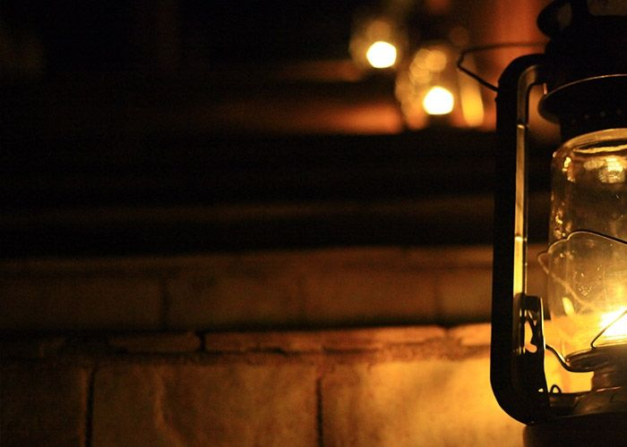 Take Hope from the Lamp Shining in the Darkness