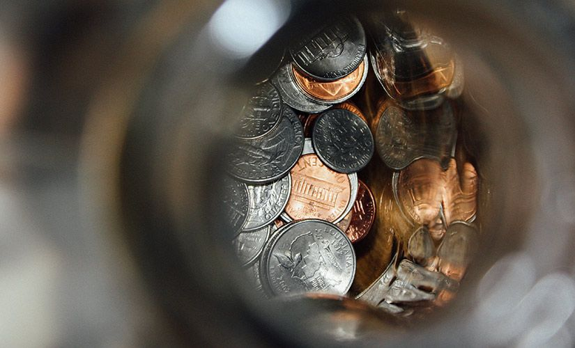 Encuentra paz cuando tienes miedo a la falta de plata