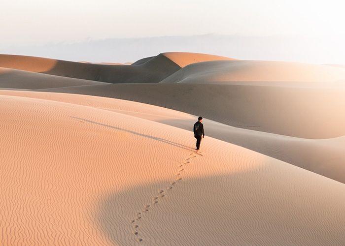 Viaja con Jesús en el desierto